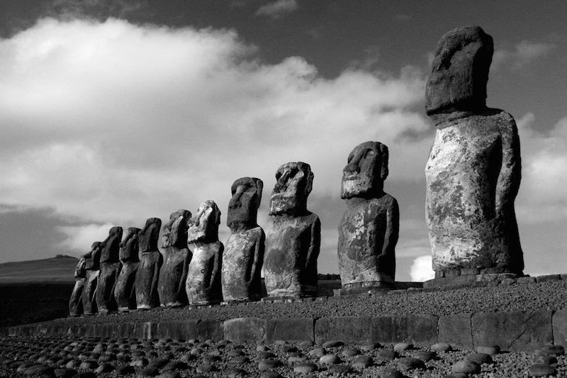 Easter Island. Tongariki Moai